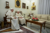 Ex-pope Benedict seeks to end storm over controversial book
